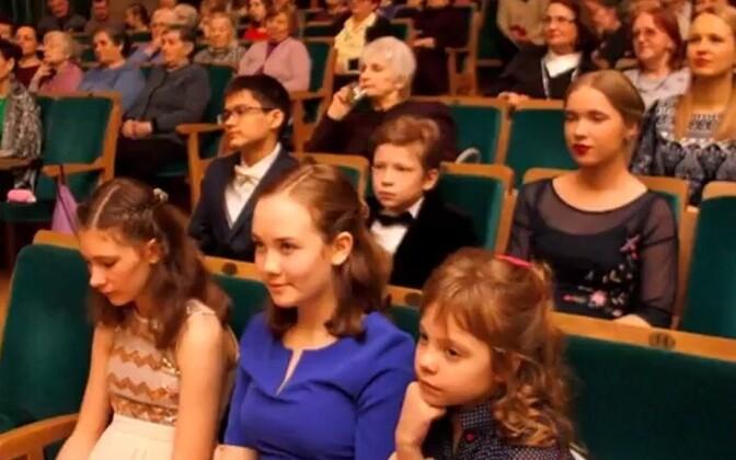 Участники и зрители одного из предыдущих конкурсов.