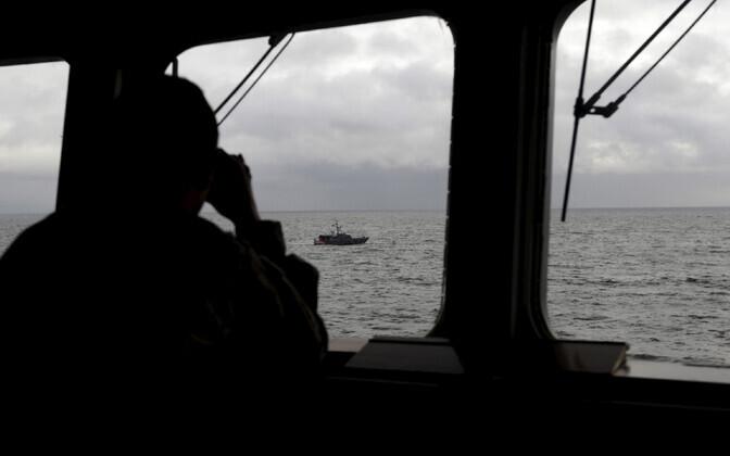 Läti merevägi.