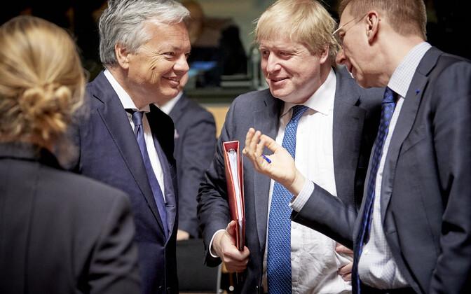 Заседание Совета ЕС в Люксембурге 16 апреля.