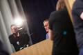 Яак Ааб на пресс-конференции.
