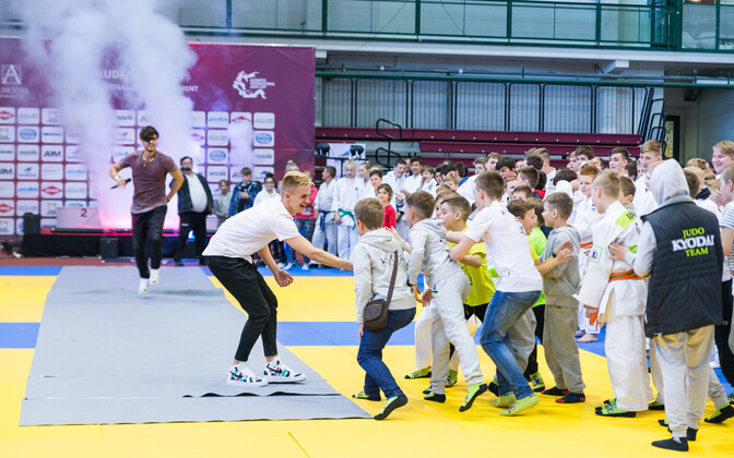 rahvusvahelise judo noorteturniiri avamine