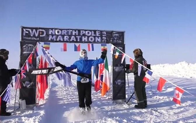 Марафон на Северном полюсе.