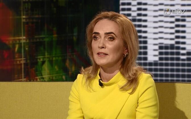 Äripäeva ajakirjanik Vilja Kiisler.