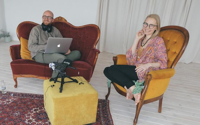 Elina Naan ja Veiko Tubin