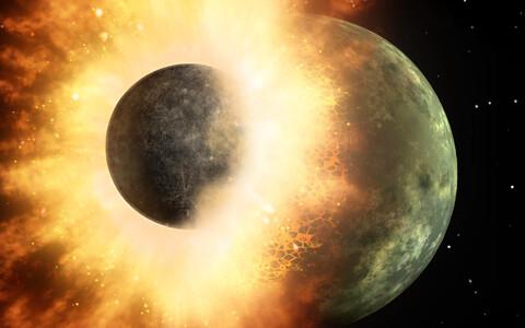 Meteoriit tekkis kahe suuremat sorti protoplaneedi kokkupõrkel.