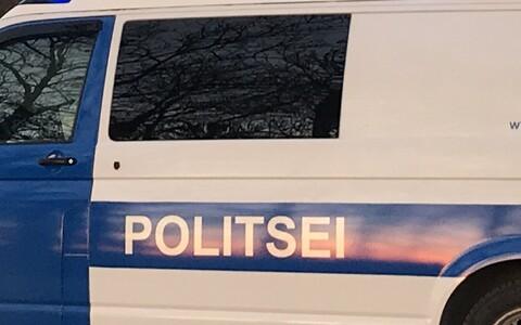 Полиция задержала подозреваемого.
