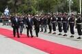 Kaitseminister Jüri Luik ja Kreeka kolleeg Panos Kammenos.