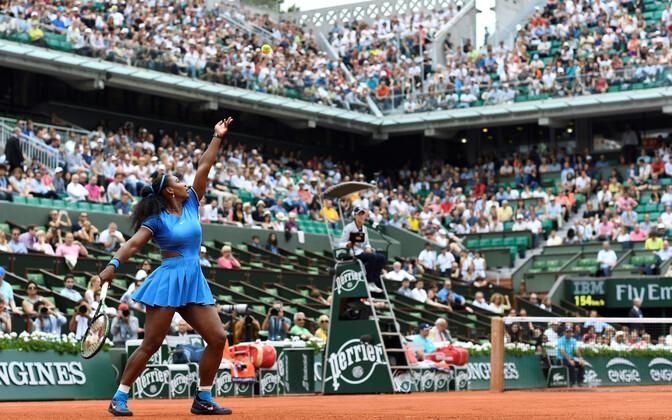 Serena Williams mängis viimati Prantsusmaa lahtistel 2016. aastal.