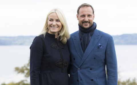 Crown Princess Mette-Marit and Crown Prince Haakon of Norway.