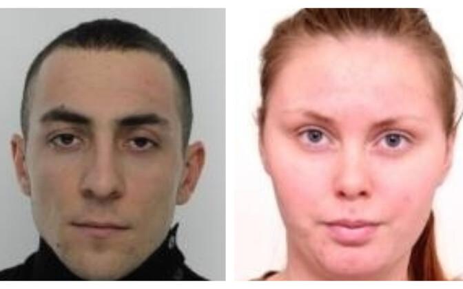 Арсен и Екатерина разыскиваются полицией.