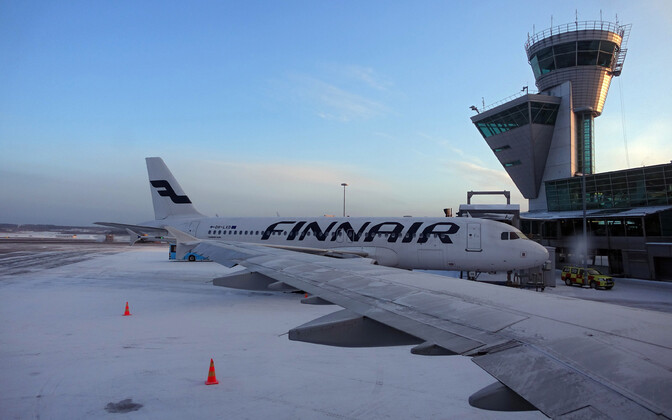 Finnair will operate an Airbus A320 such as the one pictured on its direct flights from Tallinn to Lapland.