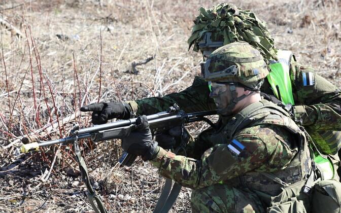 Viru jalaväepataljoni lahinglaskmised Sirgalas.