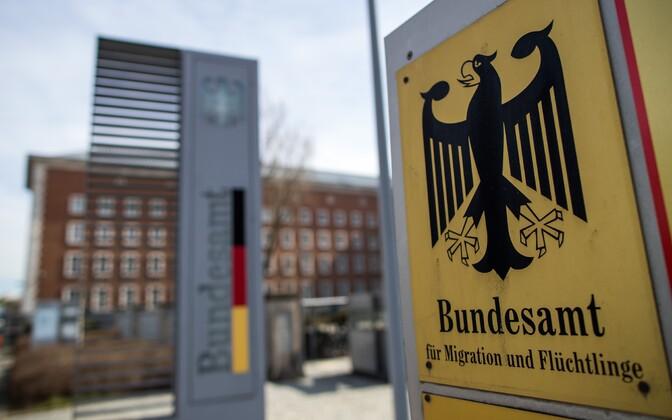 Saksa riikliku migratsiooni- ja pagulaskeskuse peakorter Nürnbergis.
