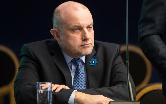 Министр обороны Эстонии Юри Луйк
