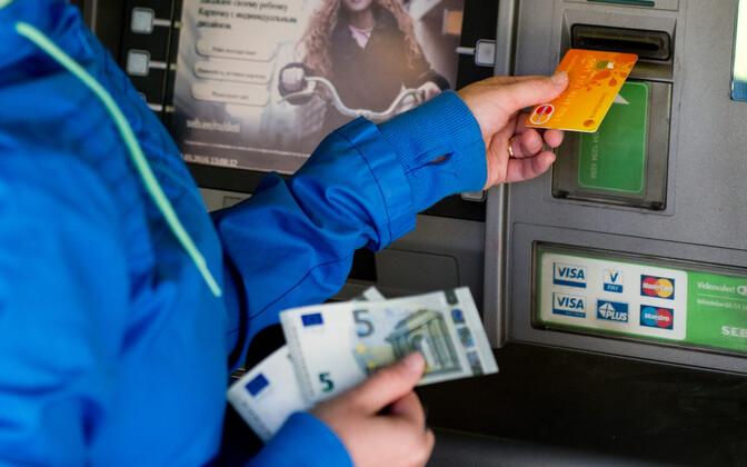 Pangaautomaat.