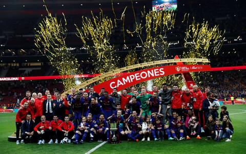 FC Barcelona võitis taas Hispaania karika.