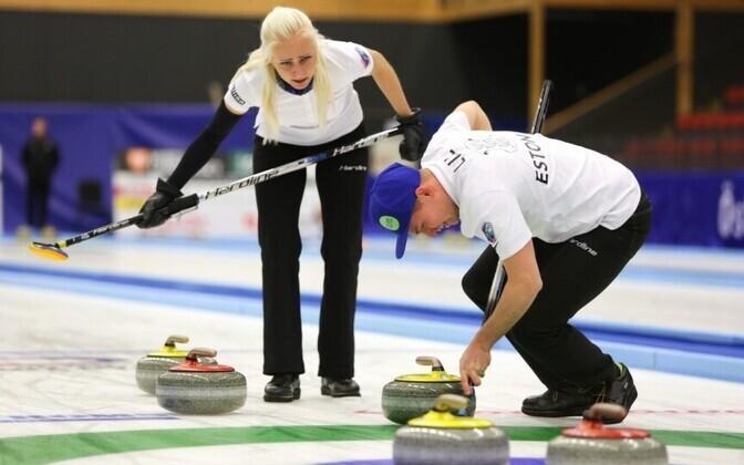 Marie Turmann ja Harri Lill