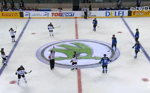 Eesti hokikoondis pidi avamängus Jaapani paremust tunnistama.