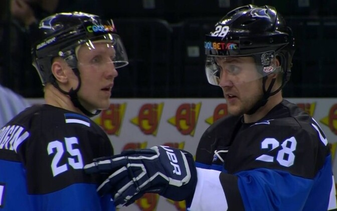 Хоккеисты сборной Эстонии дали бой сильным японцам.