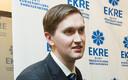 Съезд партии EKRE в Таллинне.