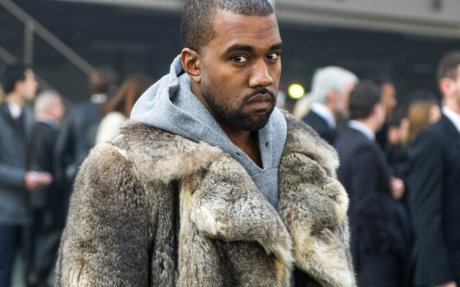 Kanye West Pariisi moeshow'l 2014. aastal.