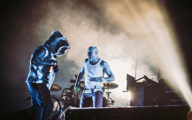 Группа The Prodigy в 2016 году выступала в Таллинне.