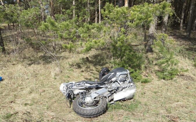 Liiklusõnnetus Saaremaa vallas.