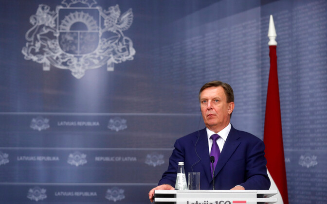 Läti peaminister Maris Kucinskis.