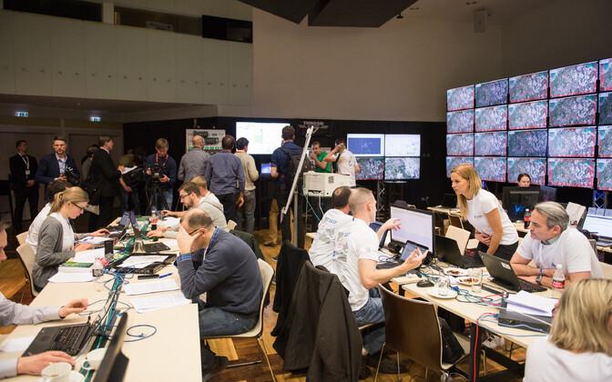 NATO küberkaitsekeskuse korraldatud suurõppus Locked Shields 2017.