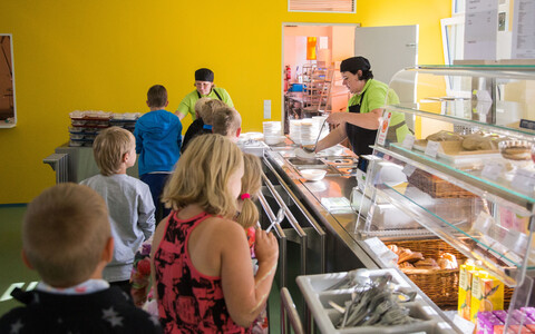 A school cafeteria in Estonia. Photo is illustrative.