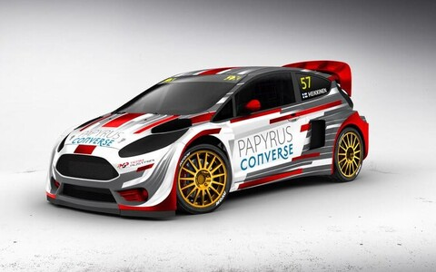 MJP Racing Team Austria uhiuus Ford Fiesta LionRX3