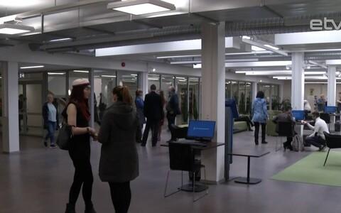 В библиотеке Тартуского университета открыты фойе и большой читальный зал