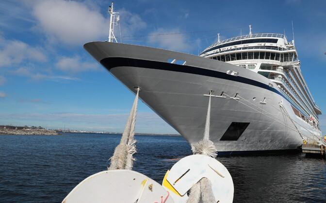 В Таллиннском порту начался круизный сезон.