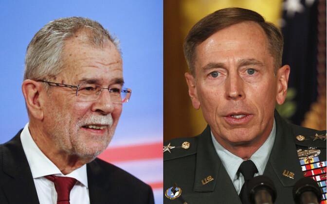Alexander Van der Bellen ja David H. Petraeus