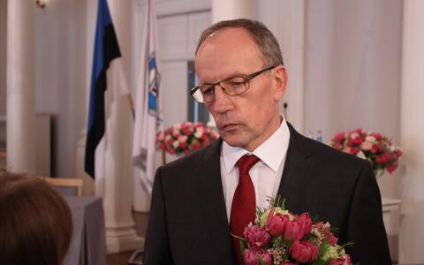 Tartu Ülikooli rektor Toomas Asser