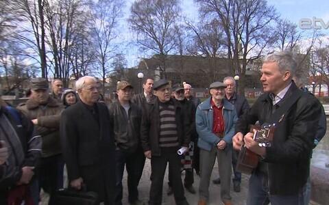 Встреча чернобыльских ликвидаторов в Таллинне