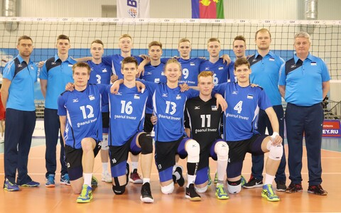 Eesti U-20 noormeeste võrkpallikoondis