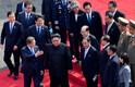 Põhja- ja Lõuna-Korea liider vahetasid sooja käepigistuse.