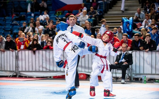 taekwon-do Euroopa meistrivõistlused Tallinnas