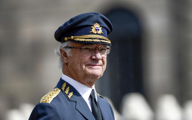 Rootsi kuningas Carl XVI Gustaf 2016. aastal.