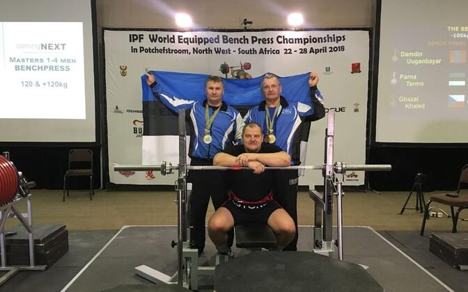 Eesti jõutõstjad maailmameistrivõistlustel