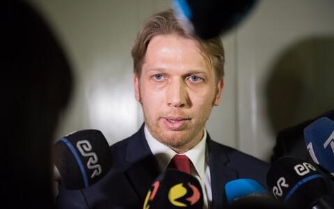 Centre Party deputy chairman Jaanus Karilaid.