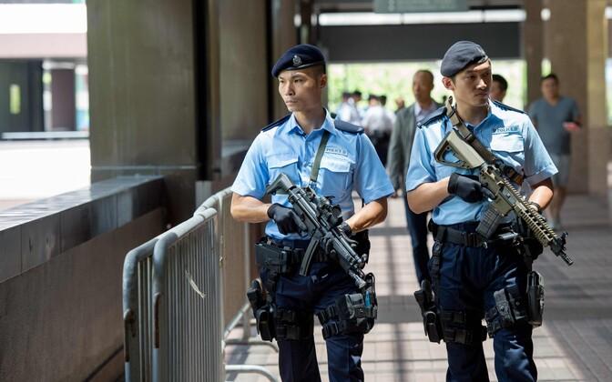 Hiina politseinikud.