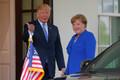 Saksamaa kantsler saabus Valgesse Majja kohtuma USA presidendi Donald Trumpiga.
