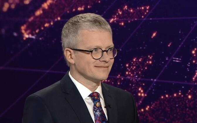 Кандидат в министры госуправления Янек Мягги.