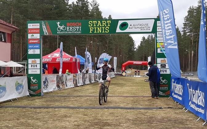 4. Alutaguse rattamaratoni võitja on Sten-Erik Ottender