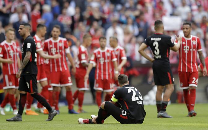 Müncheni Bayern - Frankfurdi Eintracht