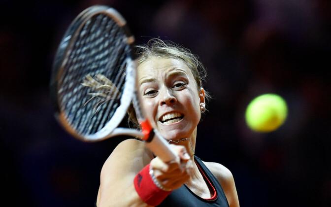 Анетт Контавейт не прошла в финал.