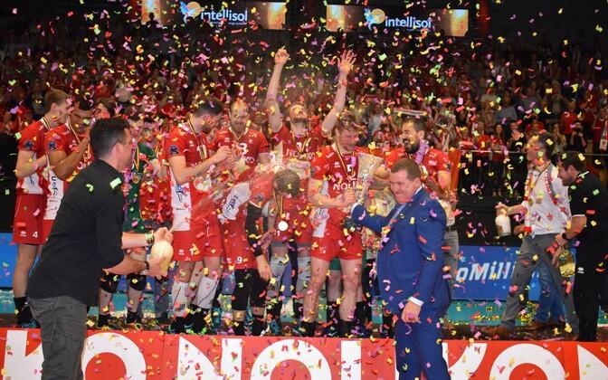 Maaseiki Noliko tuli 15. korda Belgia meistriks.