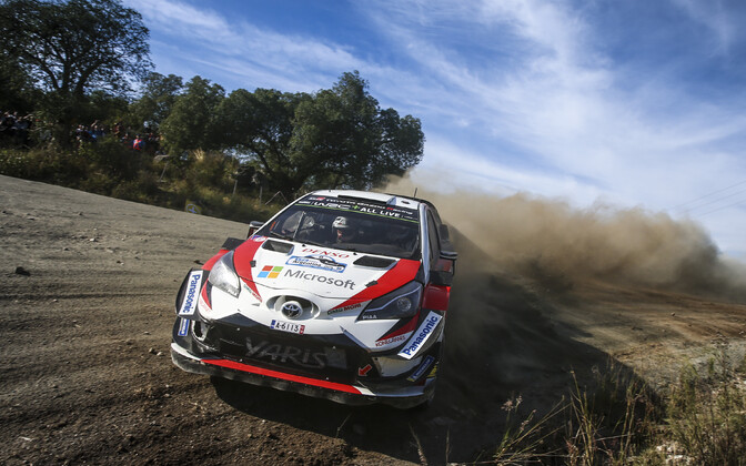 Tänak won the 2018 Rally Argentina on Sunday.